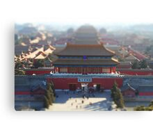 Little Forbidden City Canvas Print