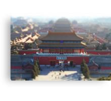 Little Forbidden City Canvas Print