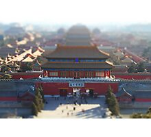 Little Forbidden City Photographic Print