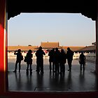 Forbidden City voyeurs by Jenny Hall