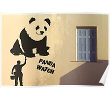 Panda Watch Poster
