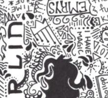 Merlin Sticker