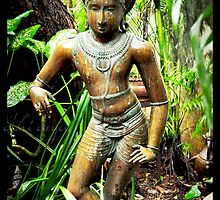 Rambe - An Indian sculpture by abhibhat