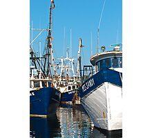Three Trawlers Photographic Print