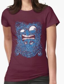 Mr Reversable Womens Fitted T-Shirt
