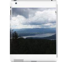 Trees Overlooking The Ocean iPad Case/Skin
