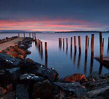 Middleton Boat Ramp Sunrise by Chris Cobern