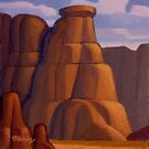 Canyon Sentinel by Rob Colvin