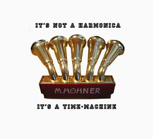 Harmonica Time-Machine Unisex T-Shirt