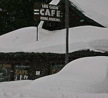 Snowed In in Silvergate, 2010 by Ken McElroy