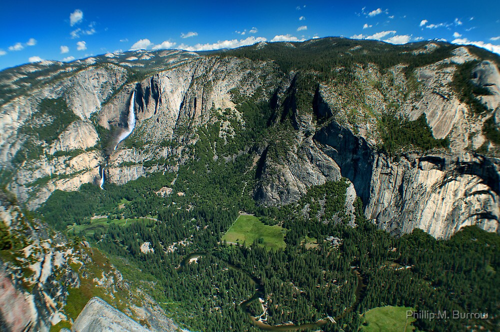 Yosemite Valley by Phillip M. Burrow