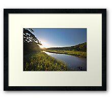 Thurra River - Croajingolong National Park Framed Print