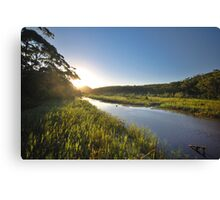 Thurra River - Croajingolong National Park Canvas Print