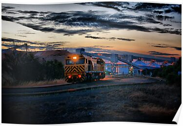 Diesel N Dusk by Chris Paddick