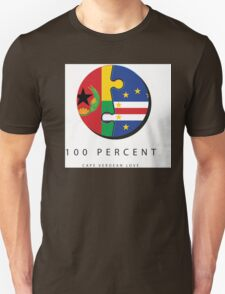 100% Cape Verdean Love T-Shirt