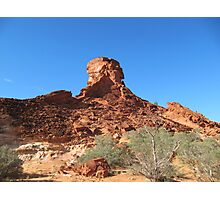 'The Sentinal' this outcrop is keeping watch. N.T. Photographic Print