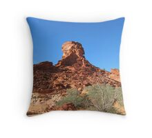 'The Sentinal' this outcrop is keeping watch. N.T. Throw Pillow