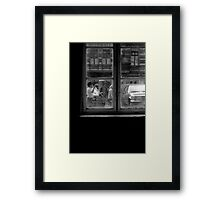 1984 - berlin: the world is out there II Framed Print