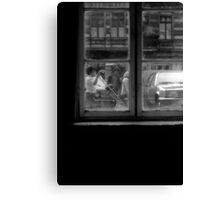 1984 - berlin: the world is out there II Canvas Print