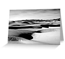 Moon Craters Greeting Card