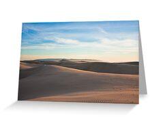 Oceano Dunes Greeting Card
