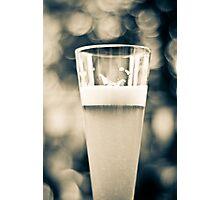 Beer Glass Bokeh Photographic Print