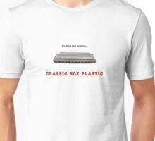Harmonica Classic Not Plastic Unisex T-Shirt