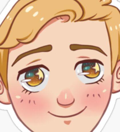 ★MOE TREK★ -Jim Kirk Sticker