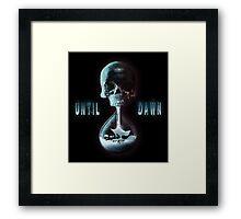 Until Dawn Framed Print