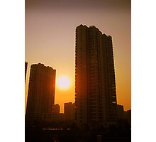 Changzhou tower blocks, China Photographic Print