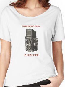 カメラ      ローライフレックス Women's Relaxed Fit T-Shirt