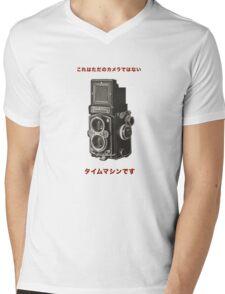 カメラ      ローライフレックス Mens V-Neck T-Shirt