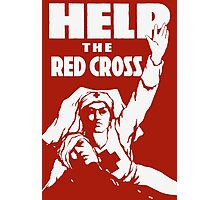 Help The Red Cross Photographic Print