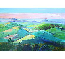 Evening panorama from Montville  Photographic Print