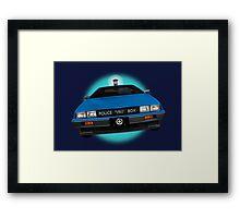 Back to the TARDIS Framed Print