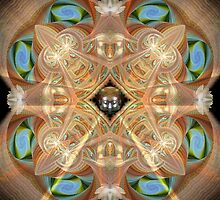 Lotus Mandala by Craig Hitchens - Spiritual Digital Art