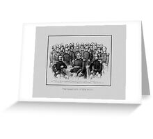 Union Civil War Generals  Greeting Card