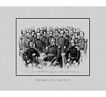 Union Civil War Generals  Photographic Print