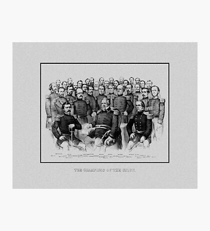 Union Civil War Generals  Photographic Print
