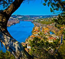 Mt Bonnell Looking Hole by Roschetzky