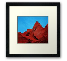 Camelback Mountain (View From Arcadia) Framed Print