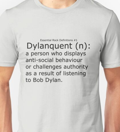 Dylanquent 1 Unisex T-Shirt