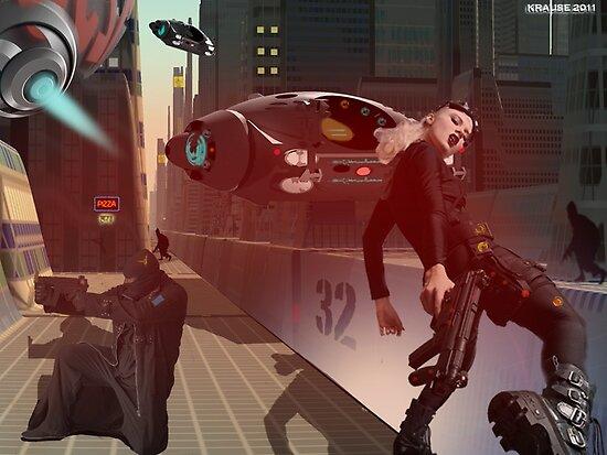 Rhino City mock scene by Peter Krause