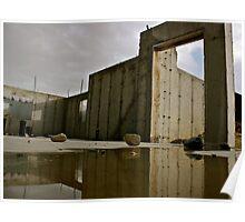 Urban Desert - Abandoned Building  Poster