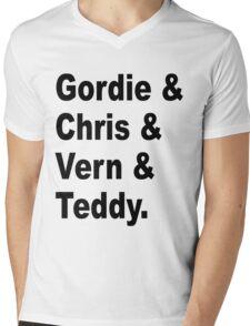 Gordie & Chris & Vern & Teddy 1 Mens V-Neck T-Shirt