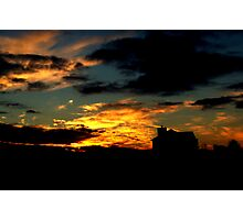 Silhoutte Memory Photographic Print