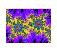 Charged Particles Art Print