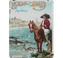 Gustave Fraipont Affiche PO LeCroisic Batz iPad Case/Skin