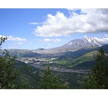 Mt St Helens Photographic Print