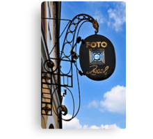 Sign Collection 5 Canvas Print